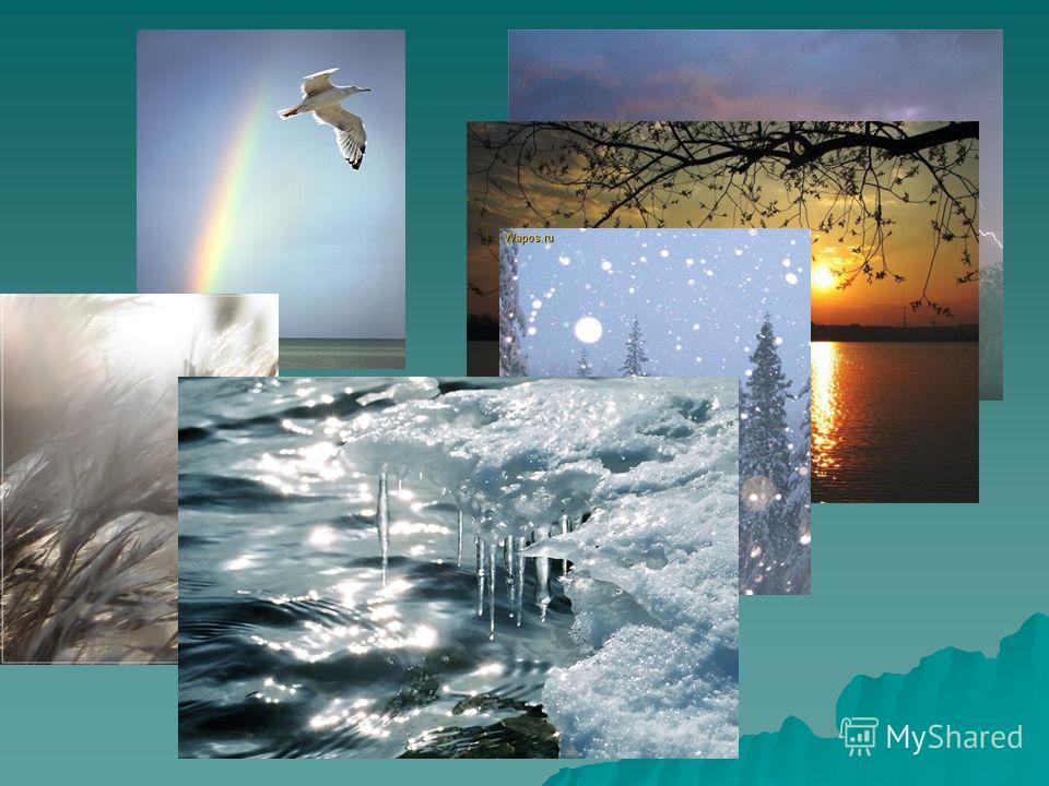Все изменения в природе называются ЯВЛЕНИЯМИ ПРИРОДЫ