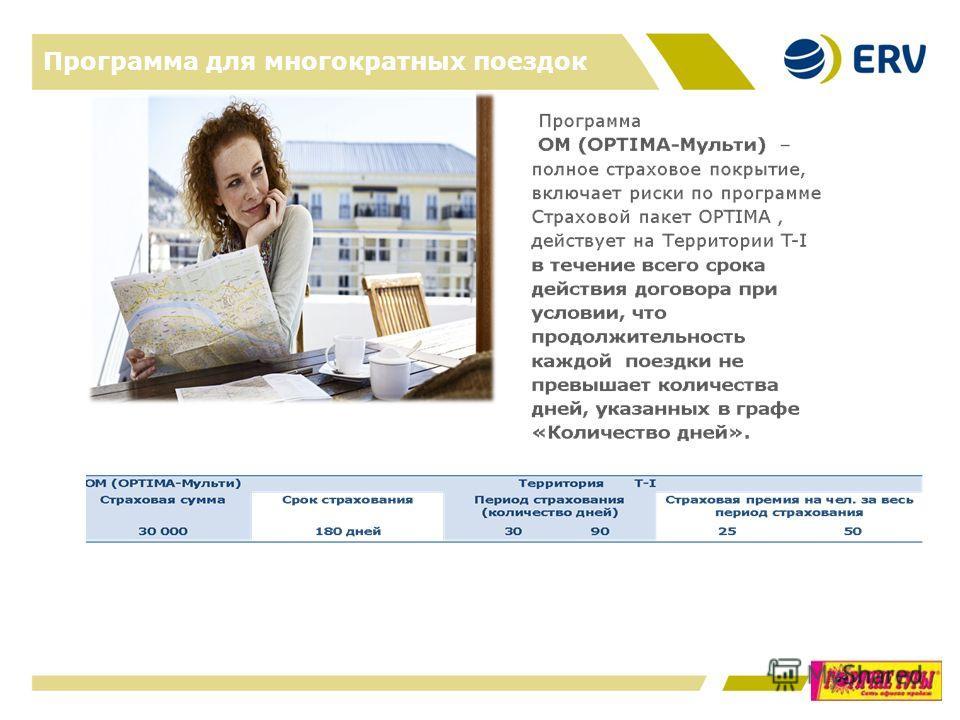 Программа для многократных поездок 13