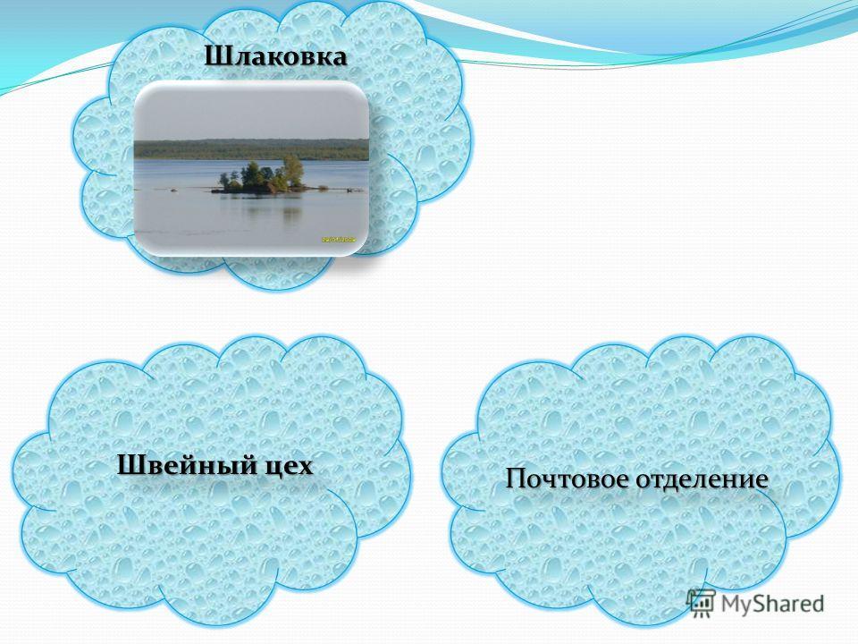 Шлаковка Шлаковка Почтовое отделение Швейный цех