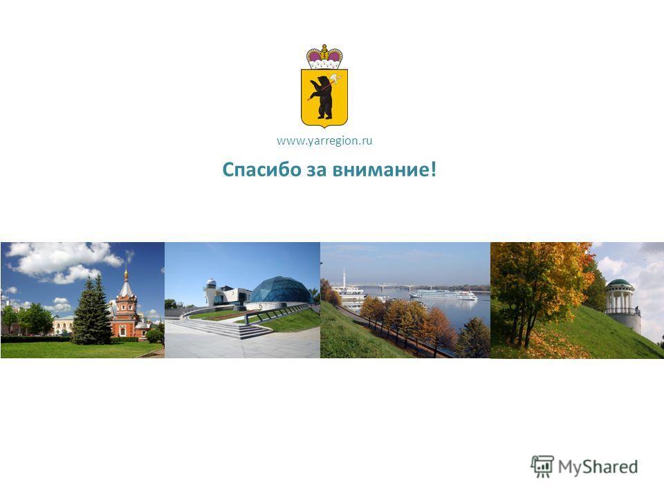 Спасибо за внимание! www.yarregion.ru