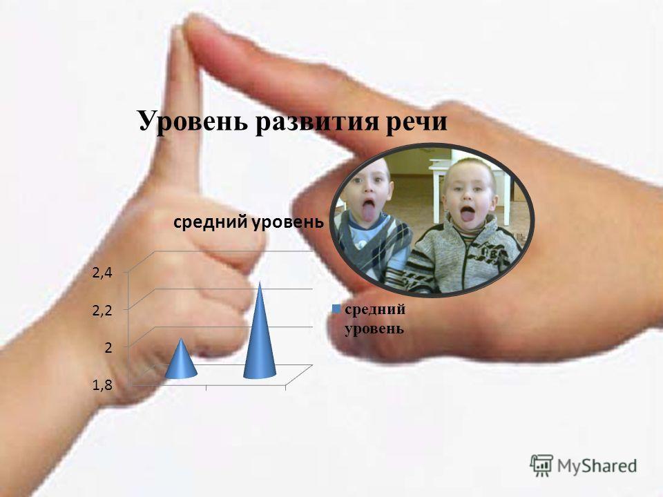 Уровень развития речи