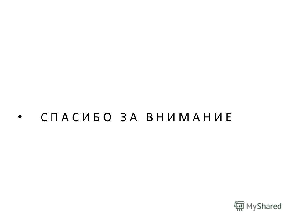 С П А С И Б О З А В Н И М А Н И Е