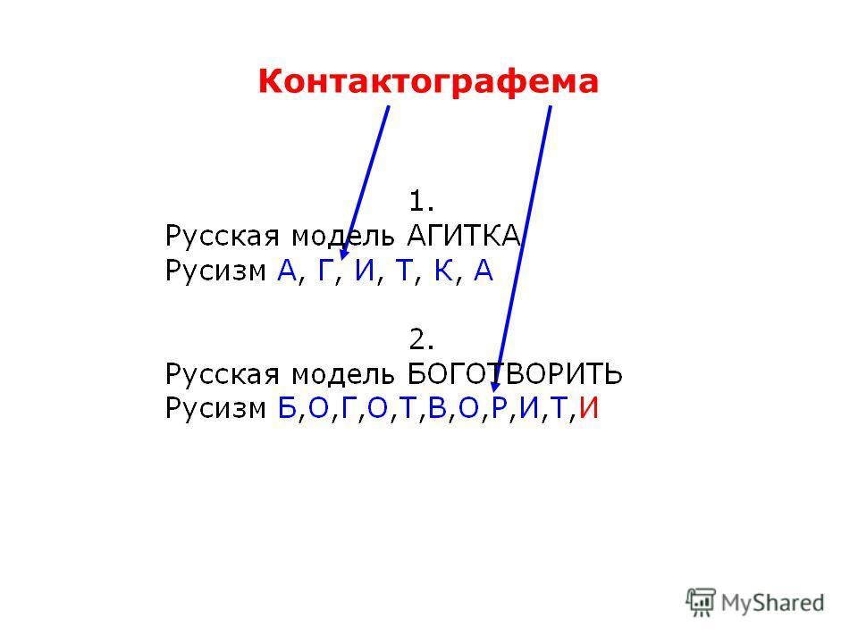 Контактографема