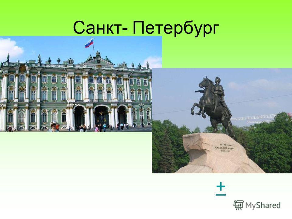 Санкт- Петербург +