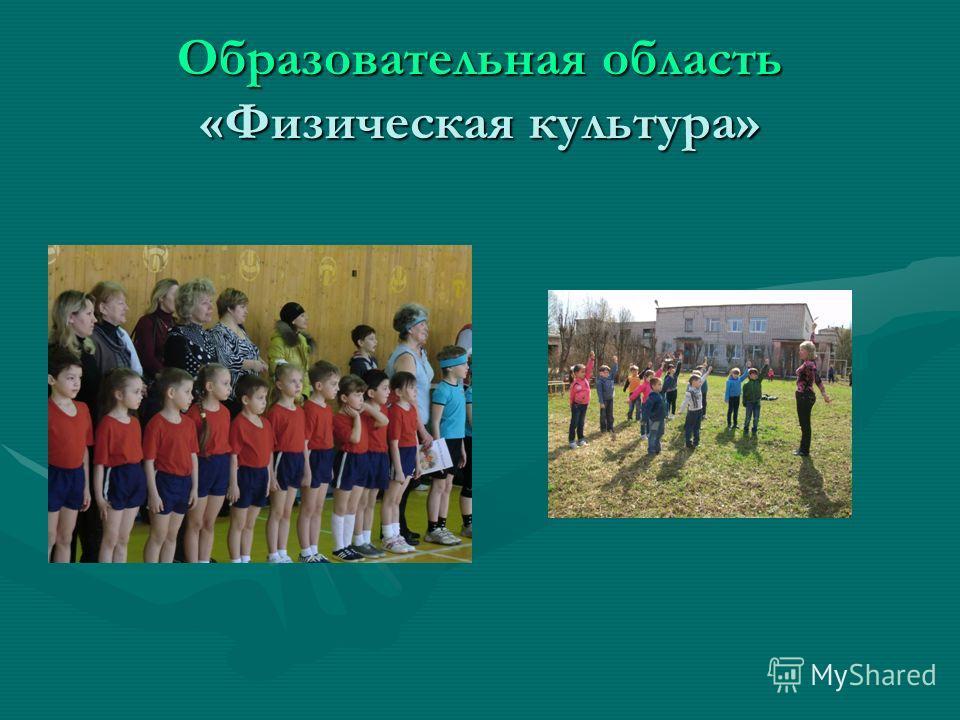 Образовательная область «Физическая культура»