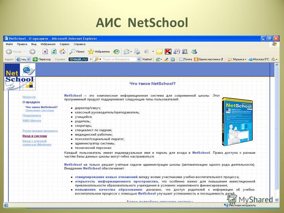 14 АИС NetSchool