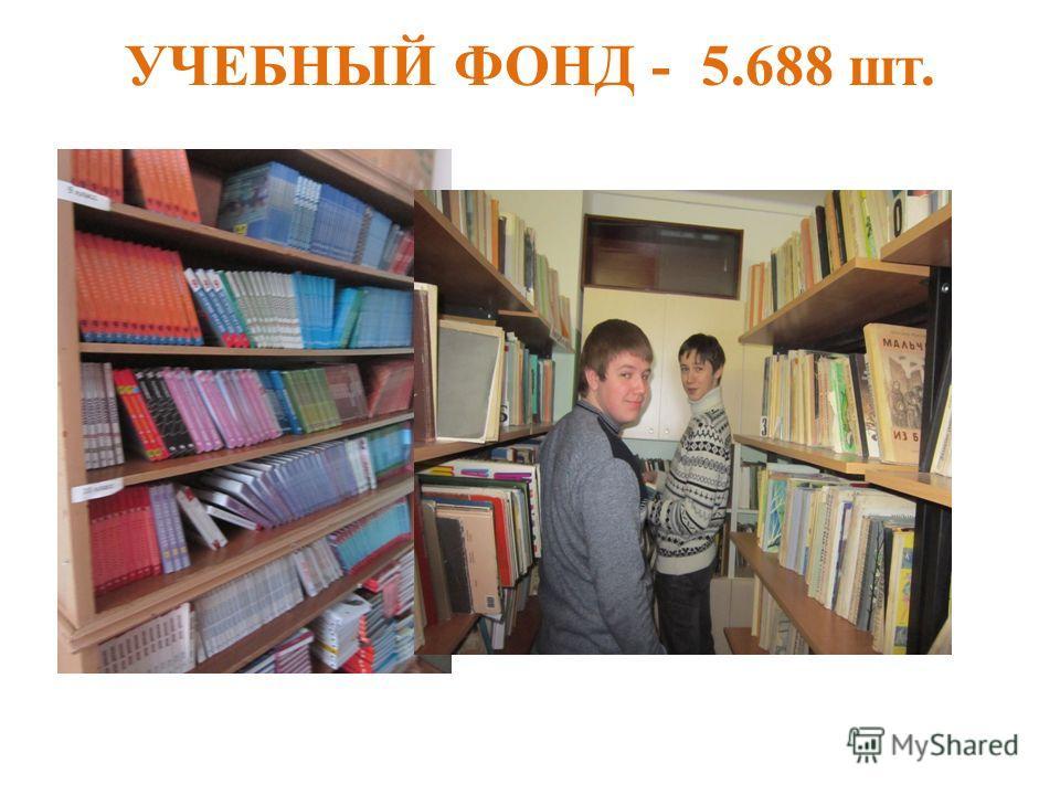 УЧЕБНЫЙ ФОНД - 5.688 шт.