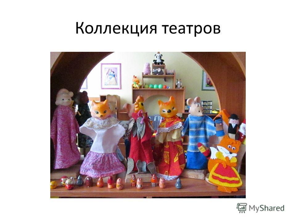 Коллекция театров