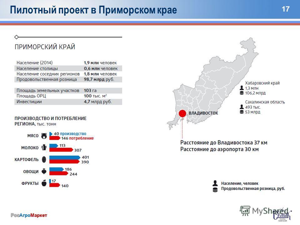 17 Пилотный проект в Приморском крае