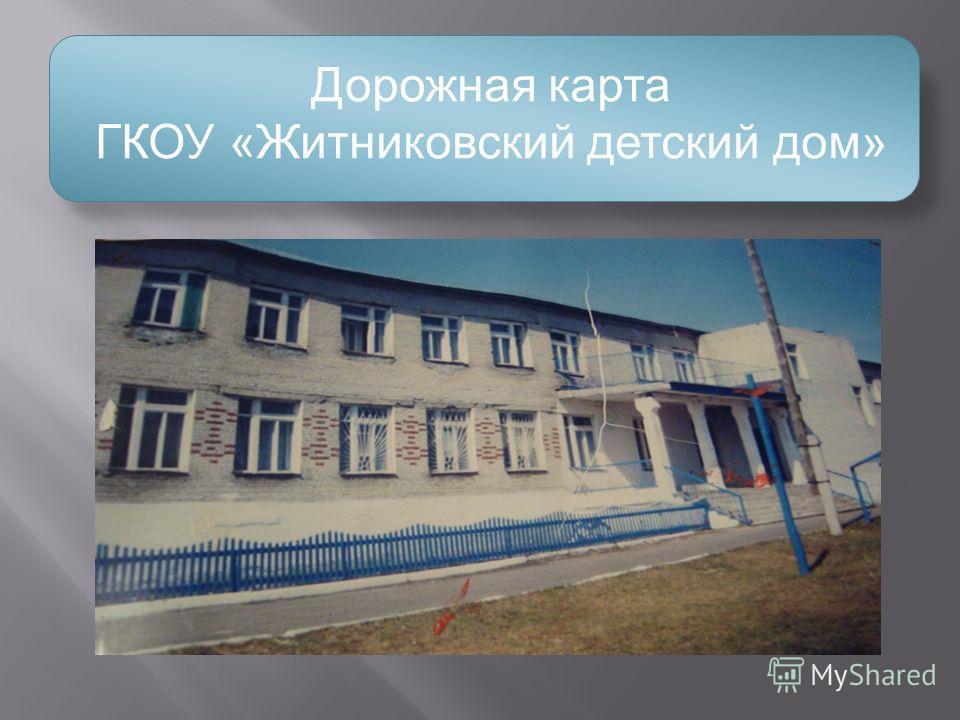 Дорожная карта ГКОУ «Житниковский детский дом»