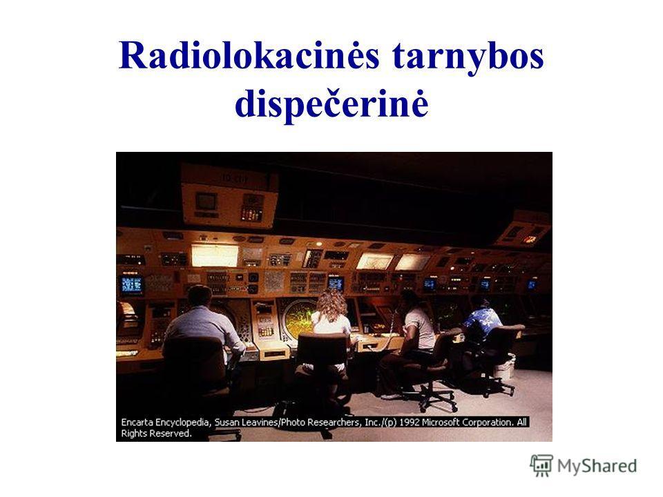 Radiolokacinės tarnybos dispečerinė