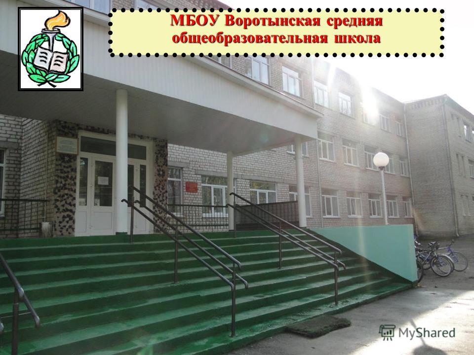 МБОУ Воротынская средняя общеобразовательная школа