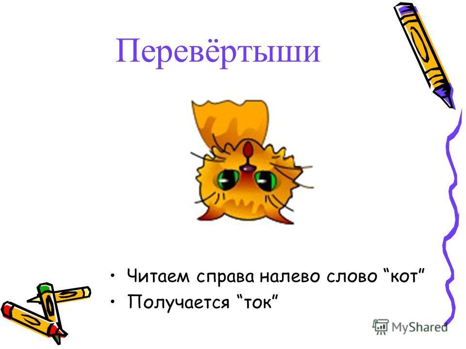 Кот ток кто ребус