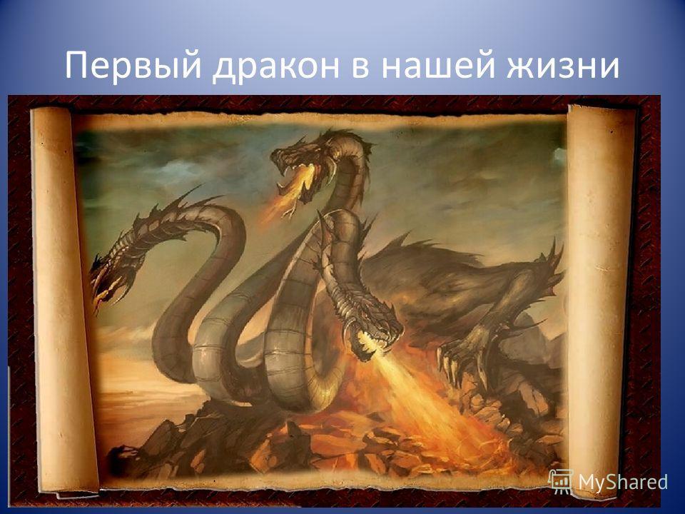 Первый дракон в нашей жизни