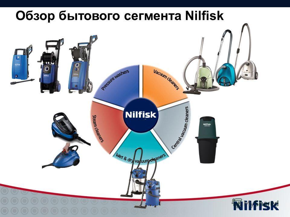 Обзор бытового сегмента Nilfisk