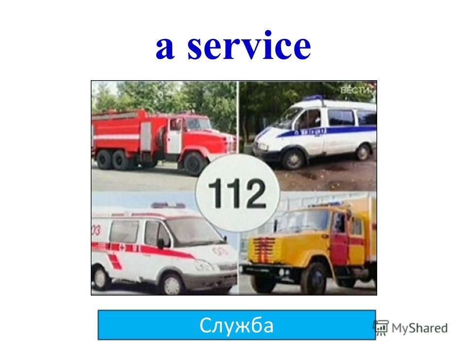 a service Служба
