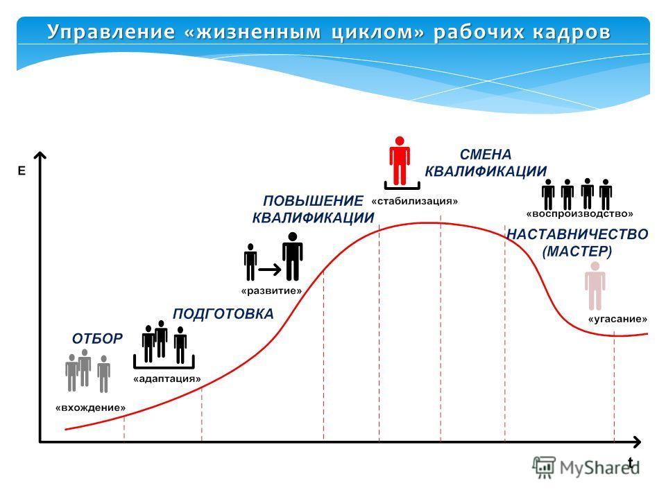 Управление «жизненным циклом» рабочих кадров