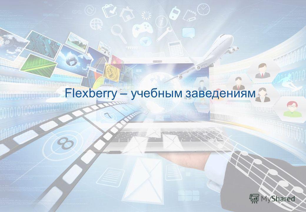 Flexberry – учебным заведениям