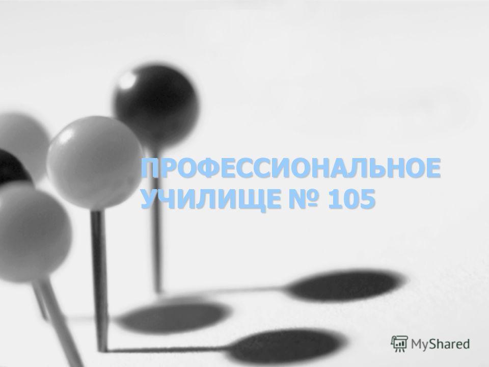 ПРОФЕССИОНАЛЬНОЕ УЧИЛИЩЕ 105