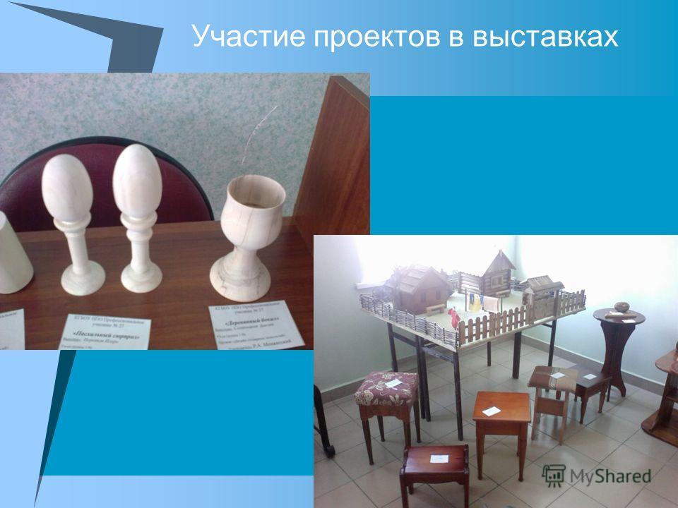 Участие проектов в выставках