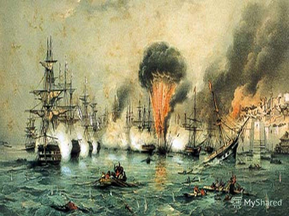 Синопская бухта 18. 11.1853 года Последняя битва парусного флота