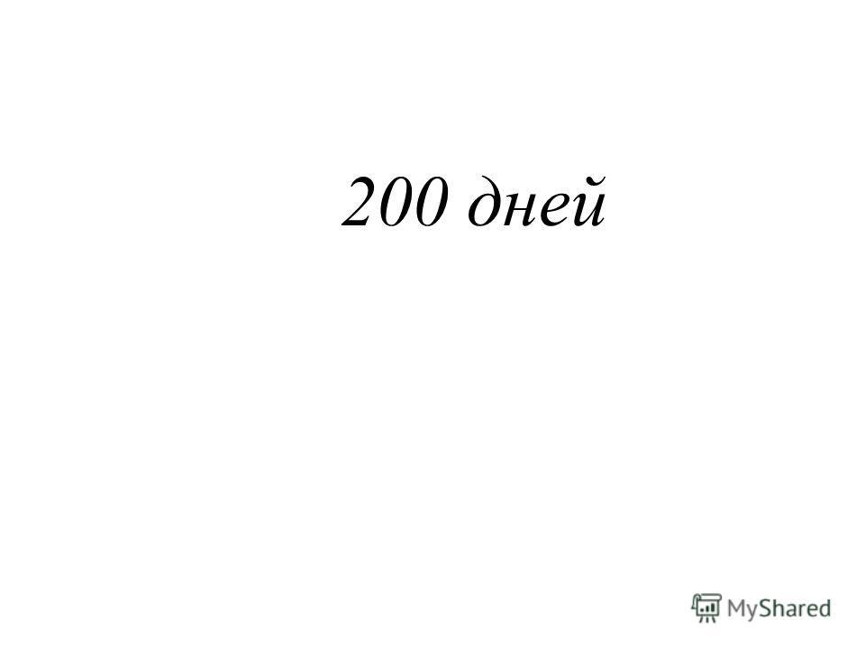 200 дней