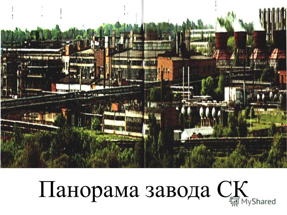 Панорама завода СК