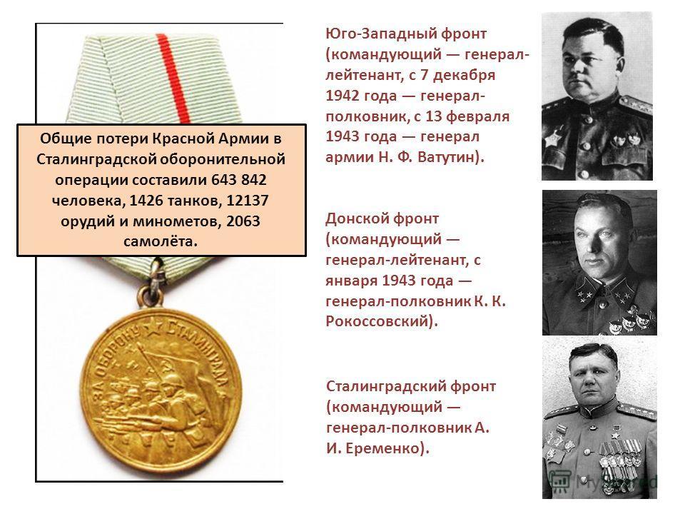 Ранним утром 19 ноября 1942 года войска Юго-Западного и правого крыла Донского фронтов перешли в наступление под Сталинградом. В 7 часов 20 минут была подана команда: «Сирена», которая ознаменовала мощнейшую артподготовку. 3500 реактивных установок «