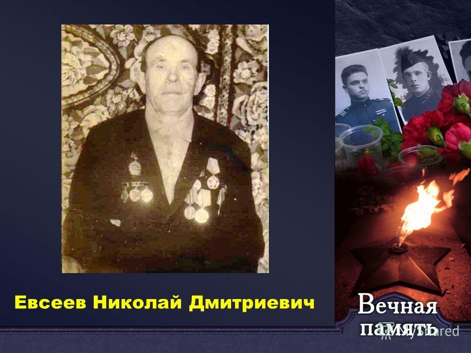 Евсеев Николай Дмитриевич