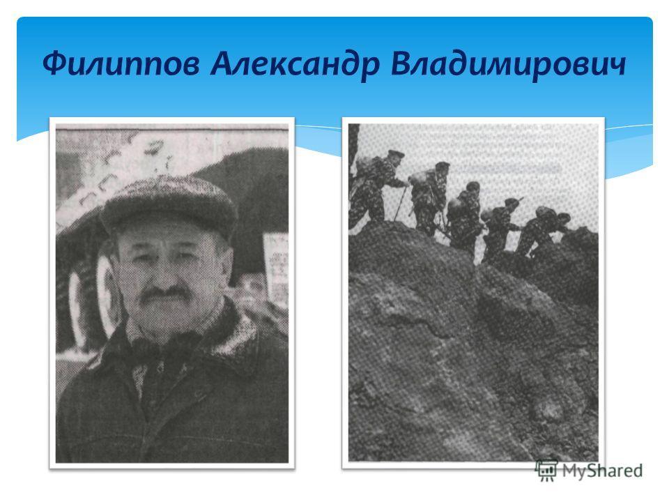 Филиппов Александр Владимирович