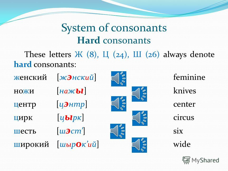 5) Placed after a hard sign (ъ), compound vowels are pronounced as 2 sounds: объяснять [ а б й и сн а т ]to explain подъезд [пад й э ст]door way объём [ а б й о м]volume