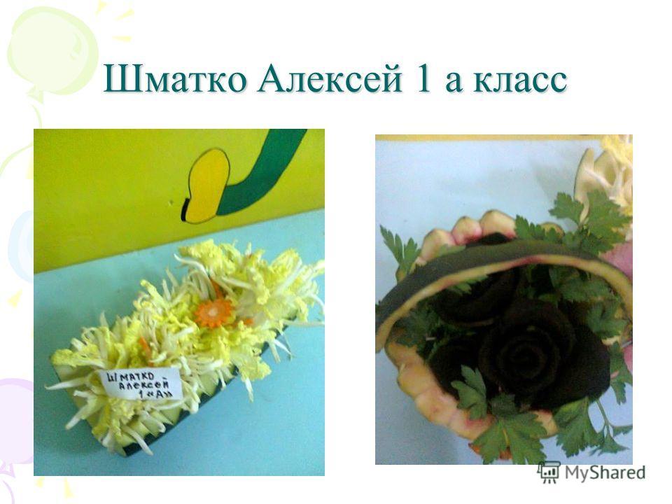Шматко Алексей 1 а класс