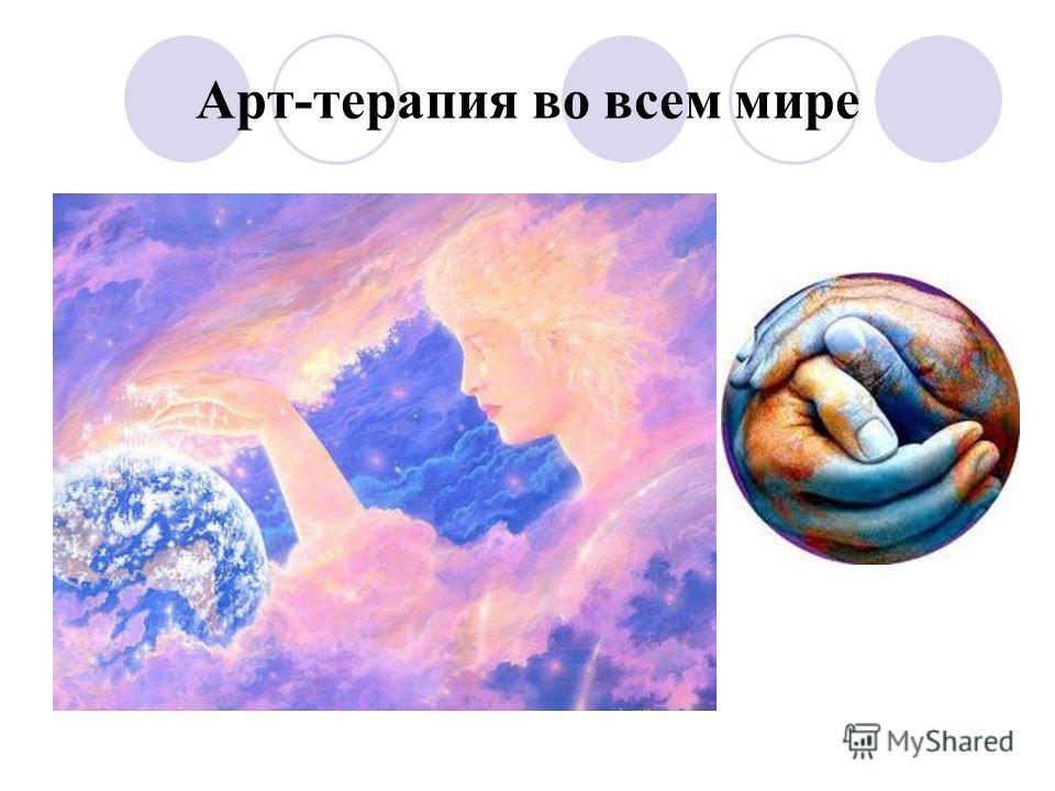 Арт-терапия во всем мире