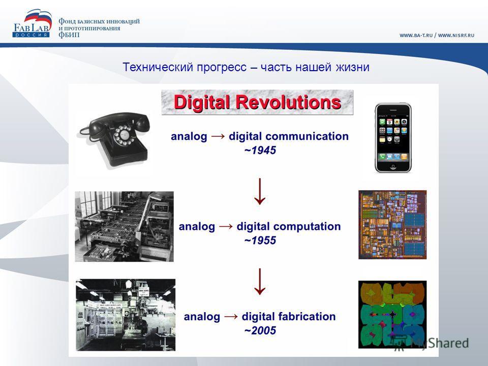 Технический прогресс – часть нашей жизни