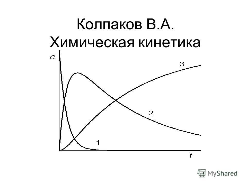 Колпаков В.А. Химическая кинетика