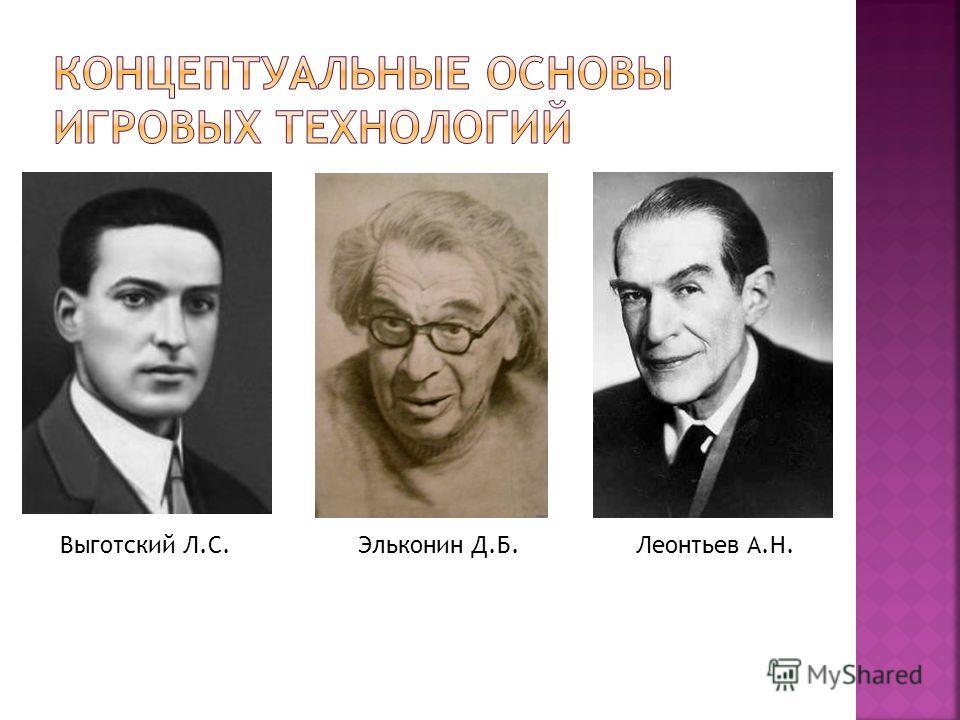 Выготский Л.С.Леонтьев А.Н.Эльконин Д.Б.