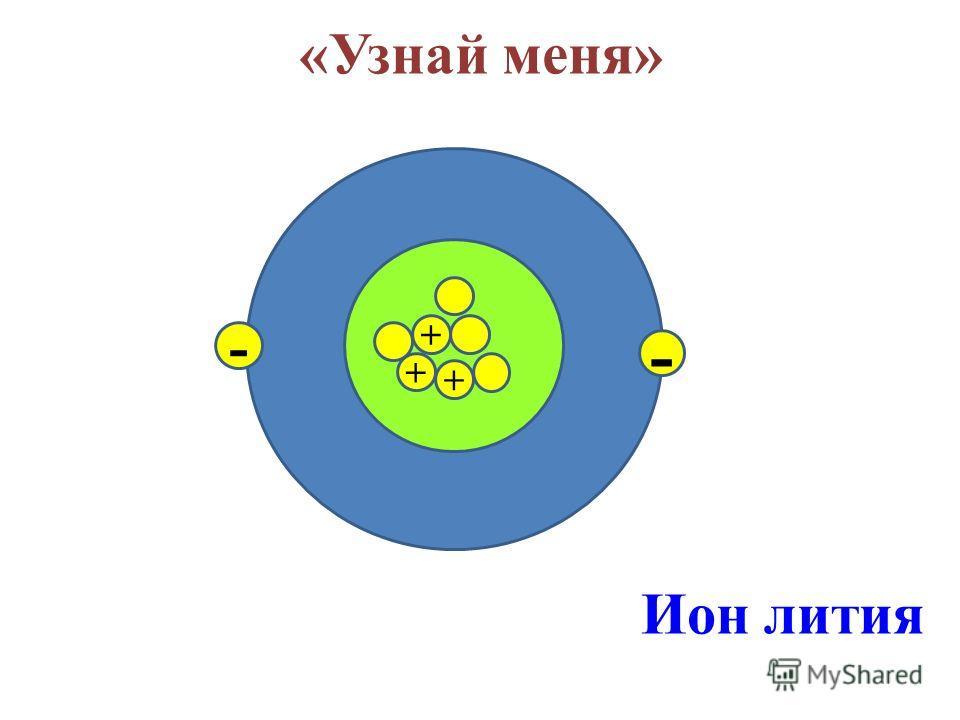 «Узнай меня» + + + + - - Атом бора + - - -
