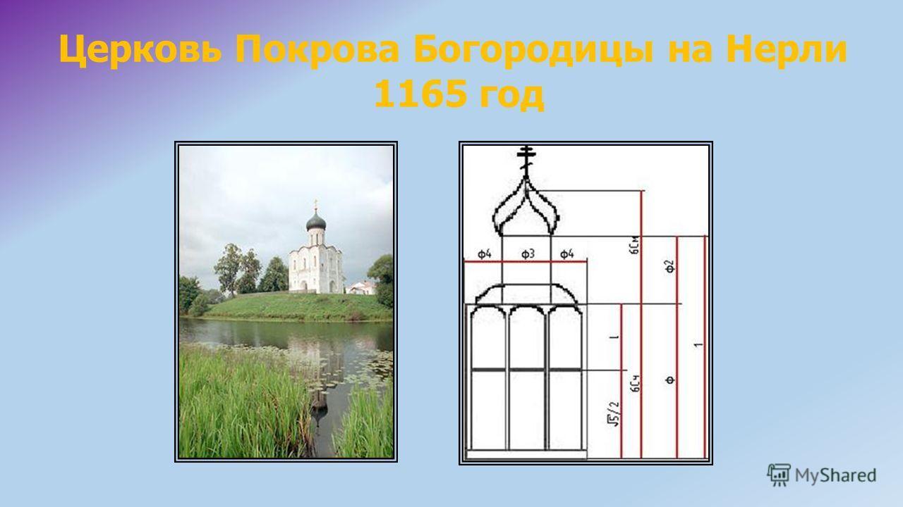 Церковь Покрова Богородицы на Нерли 1165 год