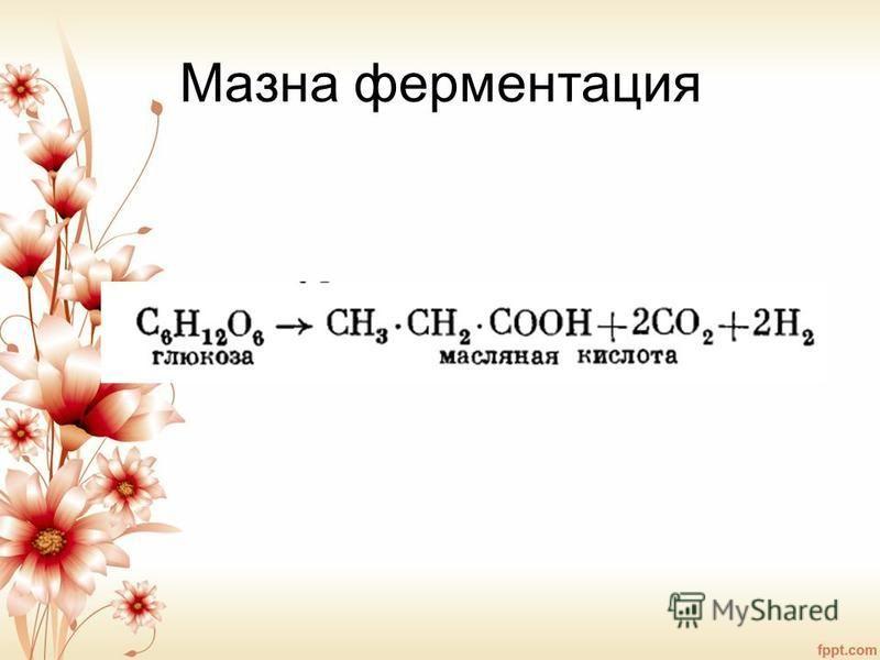 Мазна ферментация